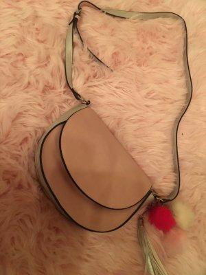 accessoires by takko fashion Torba na ramię srebrny-różowy