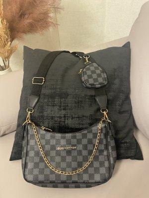 Louis Vuitton Sac bandoulière noir-gris