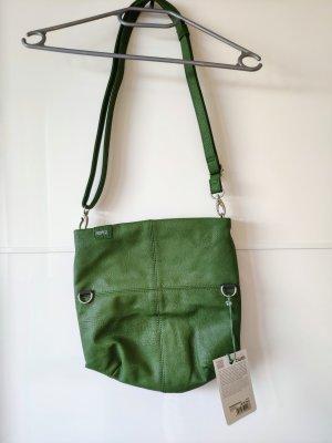 Zwei Sac bandoulière vert