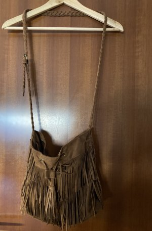 H&M Sac à franges brun