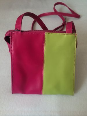 Umhängetasche pink/grün *NEU mit Etikett* SEMPRE