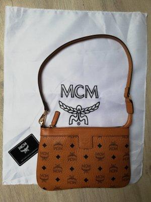 MCM Pochette marrone