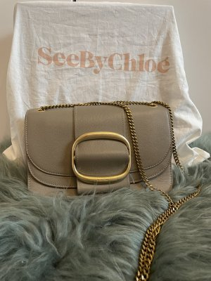 Umhängetasche See by Chloé in motty grey