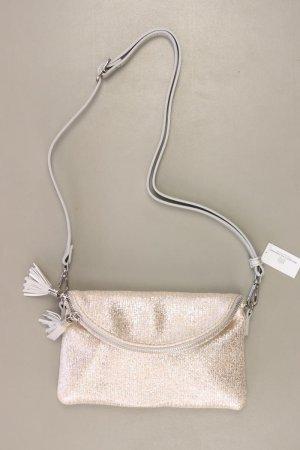 Crossbody bag silver-colored