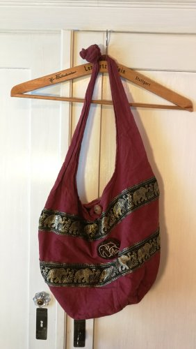 Burlap Bag multicolored