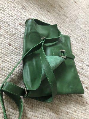 Borse in Pelle Italy Crossbody bag green