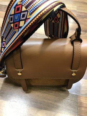 Umhängetasche Tasche Handtasche Leder camel neu Hammer