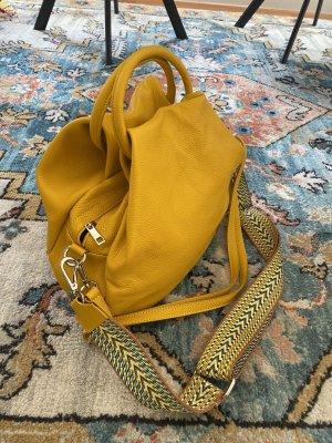 Borse in Pelle Italy Crossbody bag yellow