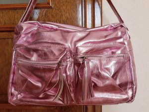bpc bonprix collection Borsa college rosa antico-rosa Tessuto misto