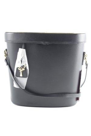 "Umhängetasche ""Victoria Bucket Bag Black/ Gold"""