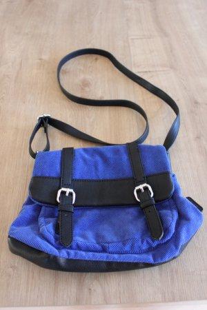 Umhängetasche von Esprit blau-schwarz