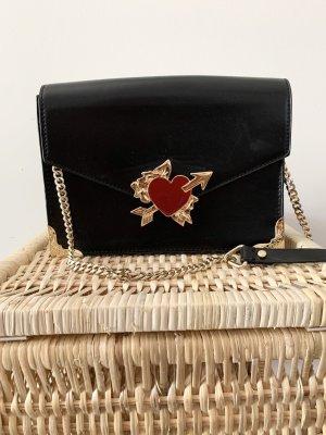 Umhängetasche Zara schwarz Gold