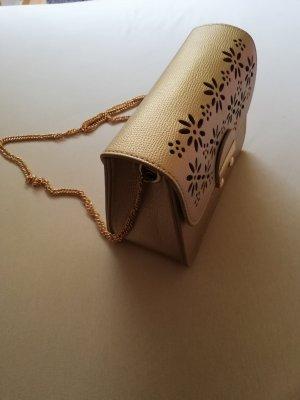 Crossbody bag gold-colored