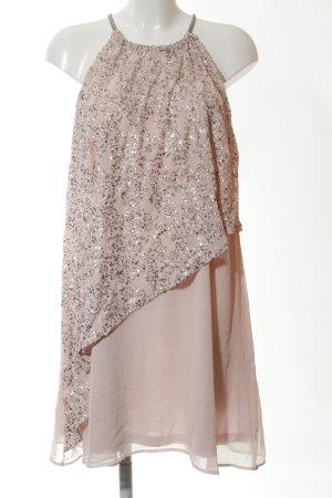 Umlauf & Klein Vestido de cuello Halter rosa elegante