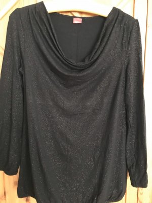 Esprit Cowl-Neck Shirt black