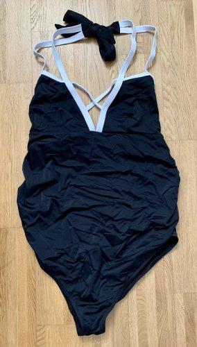 Asos Zwempak zwart-wit