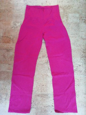 Pantalone fitness rosso lampone