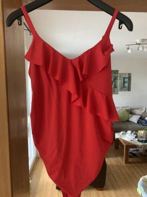 H&M Traje de baño rojo