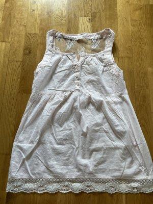 Umstandsbluse Bluse für Schwangerschaft hellrosa Größe M mit Spitze