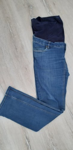Mama licious Boot Cut Jeans cornflower blue cotton