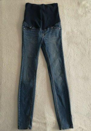H&M Stretch Trousers blue