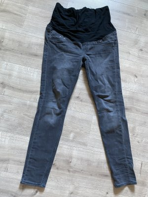 H&M Stretch Jeans dark grey-black