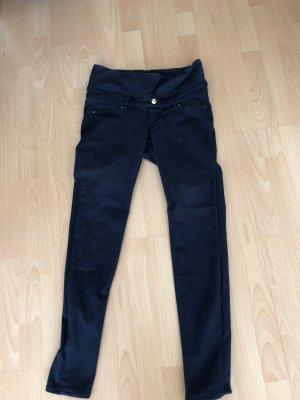 H&M Mama Pantalon chinos bleu foncé