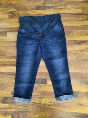 bpc bonprix collection Jersey Pants blue cotton