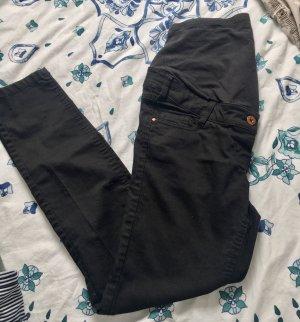 Umstandshose Umstandsjeans Schwangerschaft Jeans 38 schwarz