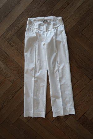 Menonove Spodnie Marlena biały Bawełna