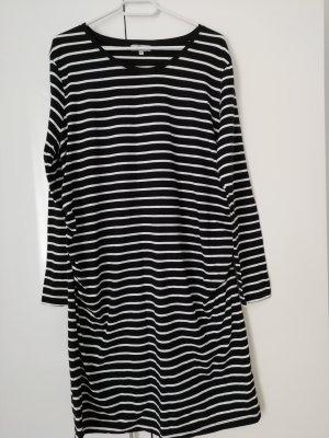 UP Fashion Tunic Dress white-black