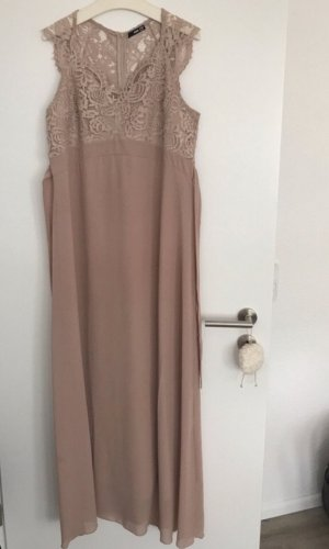 TFNC Babydoll Dress rose-gold-coloured-dusky pink