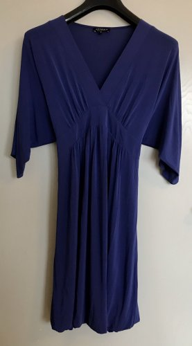 Babydoll Dress blue mixture fibre