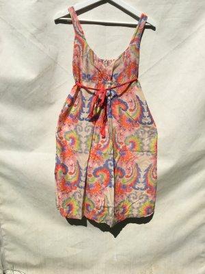 Bandeau Dress multicolored cotton