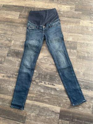 H&M Jeans a carota blu scuro