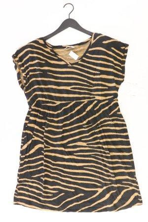 Umstandskleidung H&M Jerseykleid Größe 44 gestreift Kurzarm braun