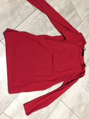 b.p.c. Bonprix Collection Top à manches longues rouge