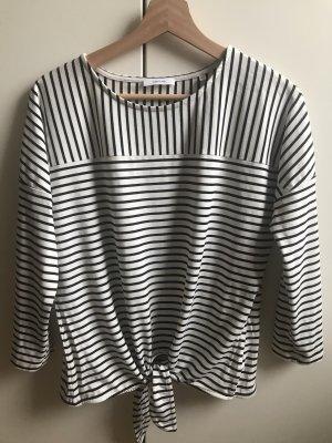 Opus Stripe Shirt white-black