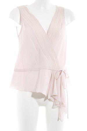 Un Deux Trois ärmellose Bluse rosa Elegant