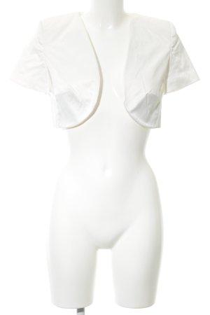Un Deux Trois Bolero white casual look