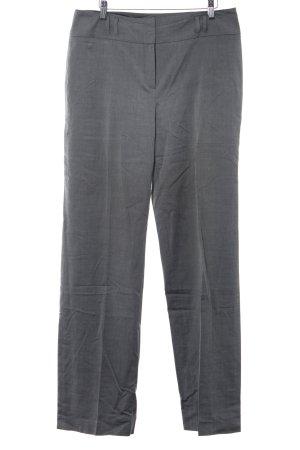 Un Deux Trois Pantalone a pieghe grigio puntinato stile professionale
