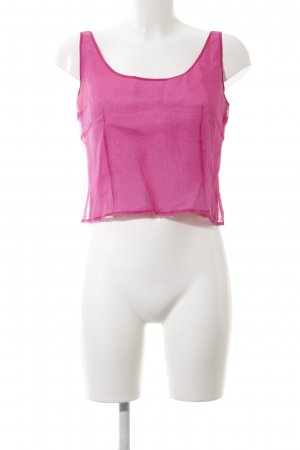 Un Deux Trois Cropped Top pink Casual-Look