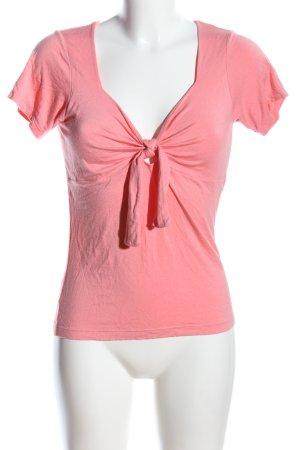 Un Deux Trois T-Shirt pink Casual-Look