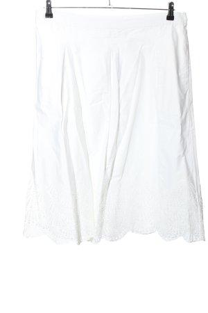 Un Jour Ailleurs Lace Skirt white casual look