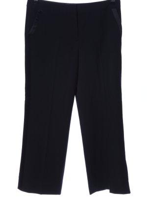 un1ueux2trios3 Pantalon de costume noir style d'affaires