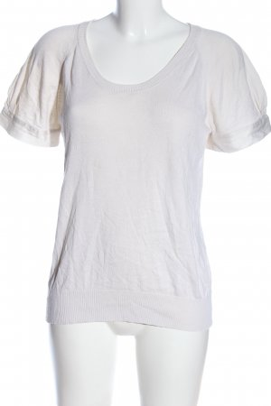 un1ueux2trios3 Jersey de manga corta blanco look casual