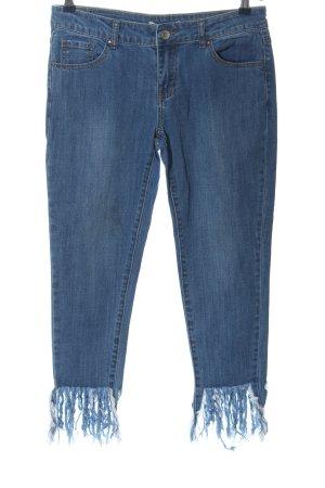 3/4-broek blauw casual uitstraling