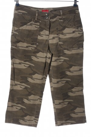 Reject 3/4-Hose Camouflagemuster Casual-Look