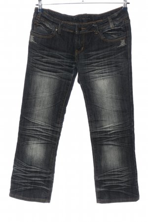 3/4 Length Jeans black casual look