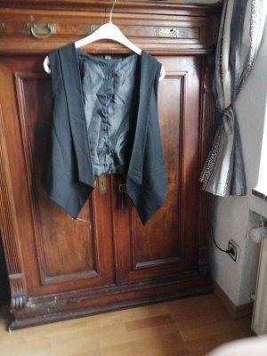 Fleece vest zwart Polyester